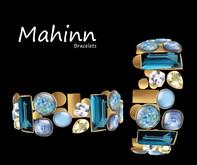 Mahinn Bracelets Blue