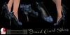 Eclectica Bowed Court Shoes-blue