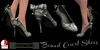 Eclectica Bowed Court Shoes-dove grey