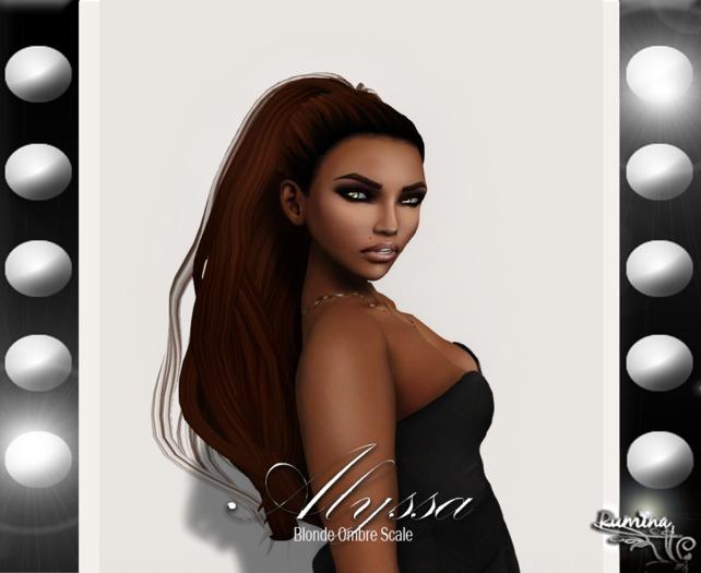 .:{Rumina}:. Alyssa - Blonde Ombre Scale