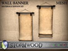 Stormwood: Mesh Wall Banner