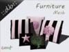 ::db furniture:: Decorative Mesh Pillow Set sea life rose