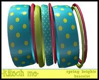 kitsch me - Spring Brights Bracelet $1L dollarbie