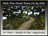 Mesh Pine Forest Scene (4)by Felix 27 Prim=20x20m Size copy-mod