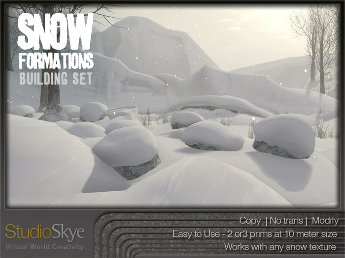 Snow Formations Building Set