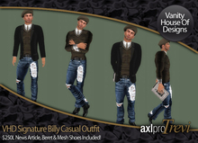 VHD Signature Billy Casual Outfit