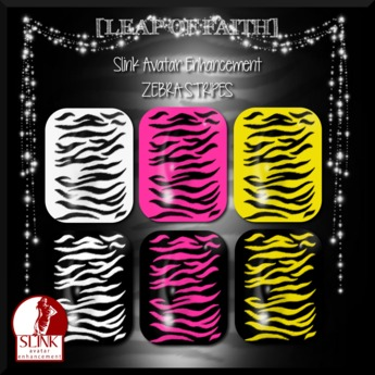[LEAP of FAITH] Zebra Stripes Slink Fingernails Applier
