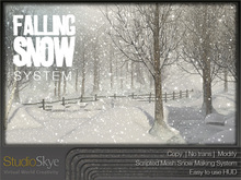 Falling Snow System :: from Studio Skye