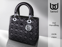 BeloD - DOL handbag - Black/Silver