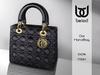 Belod - DOL handbag Black/Gold