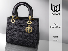 Belod - DOL handbag Black/Gold