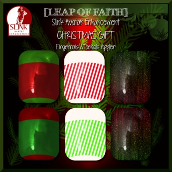[LoF] Christmas GIFT Slink Nails Applier Hands & Feet