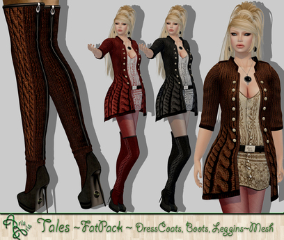 ***ArisAris AA12 Tales Outfit FatPack