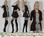 ***ArisAris AA12 Tales Outfit Black
