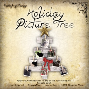 [DDD] Lil' Holiday Picture Tree