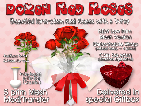 A Dozen Red Roses, Wrapped
