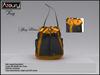 AZOURY - Penny Bag (Honey Mustard)