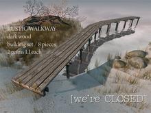 [we're CLOSED] rustic walkways dark