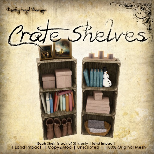 [DDD] Crate Shelves
