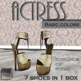 """[ AHN-JI ] """"ACTRESS"""" BASIC COLORS"""