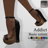 """[AHN-JI] """"Addict"""" Basic colors"""