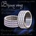 """""""Bijoux"""" unisex elegant band ( engagement, wedding ring)"""
