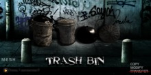 AS Trash Bin / Mesh / Low Impact