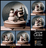 Project Puppet Snow Globe Couples Prop