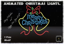 Animated Christmas Lights.