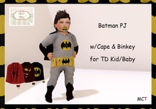 [S][A] Batman Pj Kid/Baby