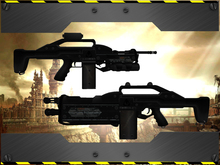 [Silence] Scifi Assault rifle pack -2-