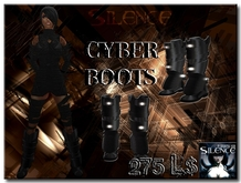 [Silence] Cyberboots *SALE*