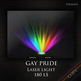 GAY PRIDE laser ( LIGHTING CLUB LIGHTS LASER SMOKE LASERLIGHT  beam club spotlights lights lasers