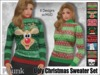 [Phunk] Mesh Women's Ugly Christmas Sweater (8 Designs)