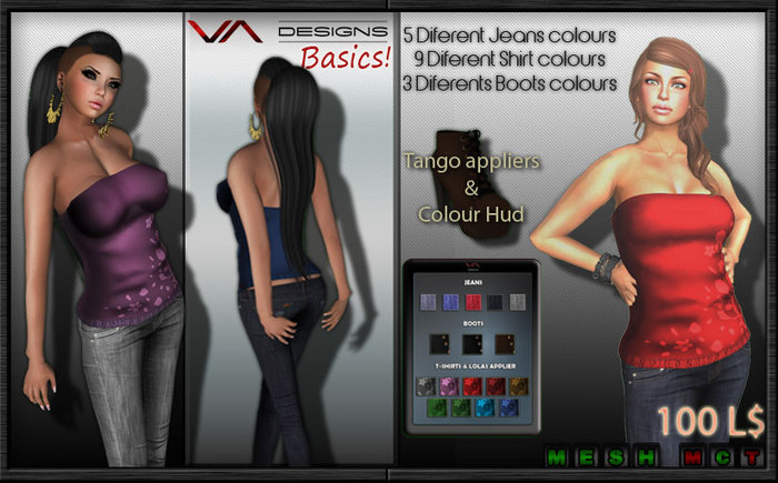 VISTA DESIGNS-MESH FULL OUTFIT 1
