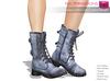 Full Perm Mesh Women's Mid Calf Combat Boots