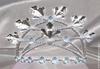 FaiRodis Tiara Crystal flowers