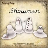 [DDD] 4 Snowmen
