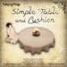 [DDD] Simple Table & Cushion