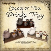 [DDD] Cocoa & Tea Tray