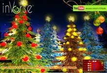 inVerse® . Christmas Trees 2013 with HUD