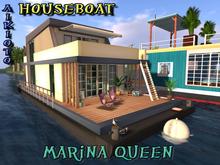 [AIKIOTO] MARINA QUEEN Houseboat Prefab