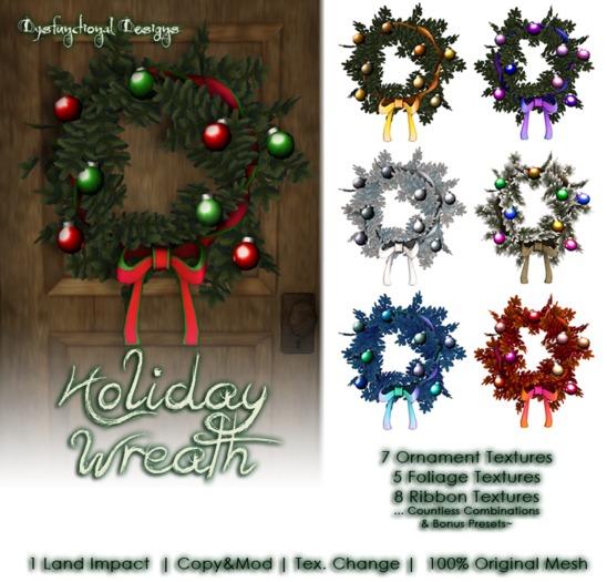 [DDD] Holiday Wreath