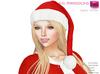 Full Perm Mesh Santa Elf Hat