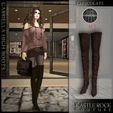 :KR: Gabriella Boots - Chocolate