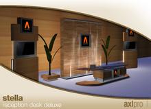 AXL pro box - Stella Reception Desk Deluxe
