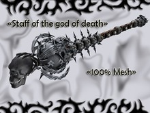 [Han] Staff of the god of death