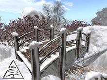 winter bridge 4 or 5 prims C/M