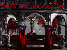 Dr3amweaver -Goth- Vampire Wedding Reception Venue (BOXED)