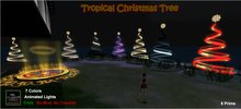 Zinner Gallery - Tropical Christmas Tree - Red